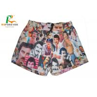 Buy cheap Recycled Surf Men Board Shorts Pantone Color Fabric Sublimation Printing from wholesalers