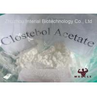 Buy cheap Clostebol Acetate Strongest Testosterone Steroid For Mass And Strength CAS 855-19-6 from wholesalers
