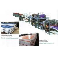 Buy cheap Insulated EPS Sandwich Panel Production Line with Decoiler / Laminating Device from wholesalers