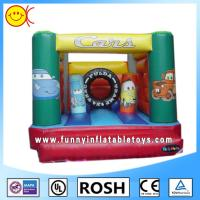 Buy cheap Small Printing Cars Blow Up Bouncer Jumper For Little Children from wholesalers