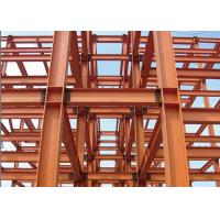 Buy cheap AWS D1.1 Steel Frame Commercial Building , Recycled Pre Manufactured Steel Buildings from wholesalers