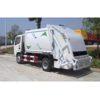 Buy cheap Big Loading Capacity Solid Waste Management Trucks With Collection Box from wholesalers