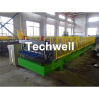 Buy cheap Metal Roof Panel Roof Sheet Roll Forming Machine with 6m Auto Stacker TW30-200-1000 from wholesalers
