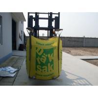 U-panel Color printing big bag , pp super sacks FIBC bulk bag 1500kg