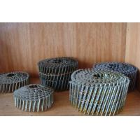 Buy cheap Round Head Common Wire Nails Hot Galvanized Coil Ring Shank 2 - 3/8 x 113 from wholesalers