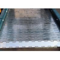 Buy cheap Anti High Pressure Chain Plate Conveyor , High Temperature Conveyor Belt Customized from wholesalers
