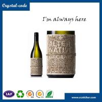 Buy cheap Chinese best price wine bottles label size,metal wine label,wine bottle label from wholesalers