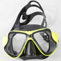 China One Window Design Diving Snorkel Mask  , Waterproof Scuba Diving Goggles on sale