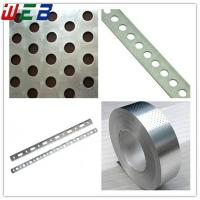 Buy cheap perforated metal steel strap from wholesalers