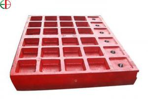 China Provides High Mn Steel Casting Customizable Mn13Cr2 Jaw Plate on sale