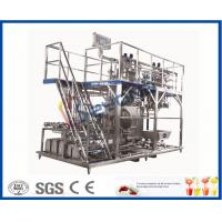 Buy cheap 3000 - 20000LPH Full Automatic Beverage Production Line With CIP System / PLC Control from wholesalers