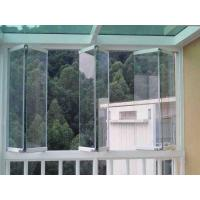 Frameless folding glass windows energy saving with Folding window