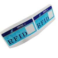 Buy cheap Custom RFID 860~960MHz 475*54mm Luggage Label Sticker Baggage For Tracking Management from wholesalers