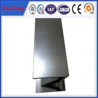 Buy cheap YueFeng New design industrial anodized aluminum extrusion profiles product