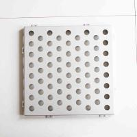 Buy cheap Carbon Steel Perforated Steel Sheet , Punched Steel Sheet For Store Displays product