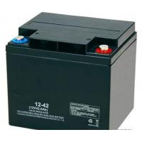 Buy cheap High Reliability Black 12v 42ah Agm Battery Rechargeable Long Cycle Life from wholesalers