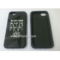 China Custom soft silicone with company logo phone case promotional silicone phone cover custom on sale