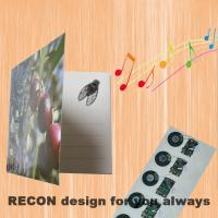 Buy cheap Custom sound module for greeting card from wholesalers