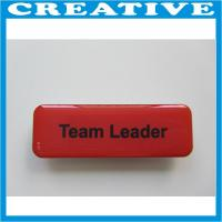 Buy cheap name badge with magnetic back product
