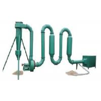 Buy cheap Reliable Small Pipe Hot Air Flow Dryer For Rice Hull , Wood Sawdust from wholesalers