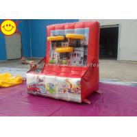 Buy cheap Funny Inflatable Basketball Game Inflatable Shooting Sports Games Inflatanle Basketball Hoop from wholesalers