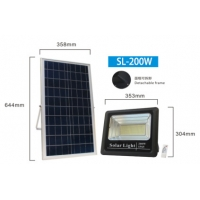 Buy cheap 200W 304mm 4h Solar Powered Outdoor Flood Lights from wholesalers
