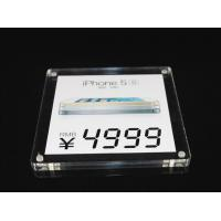 Buy cheap Transparent Acrylic Leaflet Display Stands / Acrylic Table Tent Holders from wholesalers