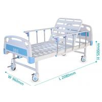 Buy cheap One Function Medical Hospital Bed With Back Rest Adjustable 250kgs Loading from wholesalers