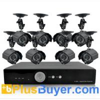 Buy cheap H264 DVR + 420 TVL Weatherproof IP Camera + 1TB HDD from wholesalers