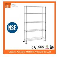 China Zinc NSF Stainless Steel Wire Shelving , Trinity Eco Storage Wire Shelving on sale
