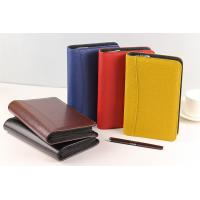 China Custom Pu Leather Organizer,Promotion A4 Leather File Folder,Genuine Leather Portfolio on sale