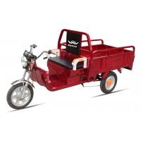 Buy cheap Battery Power Electric Cargo Trike Red 3 Wheel Tricycle 6-8 Hours Charge Time from wholesalers