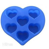 Buy cheap Silicon Kitchen Ware, Heart Shaped Silicone Mould For Cake / Chocolate / Candle / Soap from wholesalers