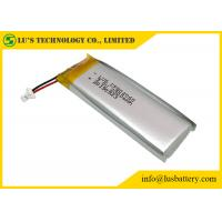 Buy cheap Disposable Flexible Lithium Battery 3.0V 2300mAh CP802060 With Wires / Connector from wholesalers