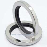 Buy cheap PTFE Oil Seals With Dual PTFE Sealing Lip Stainless Steel Housing Screw Compressor Oil Seals from wholesalers