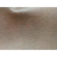 Buy cheap Embossed Faux Leather Fabric For Handbags , Faux Cowhide Upholstery Fabric product