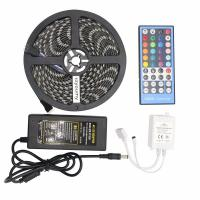 Buy cheap 5050 RGBW Led Strip 60leds/M RGBWW Led Strip Light IP65 With 40 Keys IR Remote Controller from wholesalers