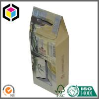 Two Bottle Wine Corrugated Packaging Box; Gable Wine Packaging Box