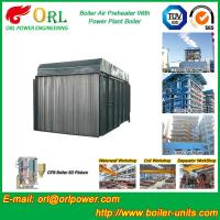 Buy cheap Gas Air Preheater CFB Boiler APH In Power Plant Heat Preservation from wholesalers