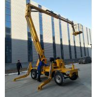 Buy cheap Arm Lifting Foldable Stage Platform , Easy Using Mobile Aerial Platform from wholesalers