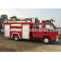 JAC Fire Fighting Vehicle , 4x2 International Fire Truck 120HP 3360mm Wheelbase