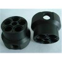 Buy cheap Custom black ABS machined plastic parts by material cutting from wholesalers
