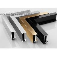 Buy cheap Wide Edge Metal Aluminium Picture Frame Mouldings For Gallery from wholesalers