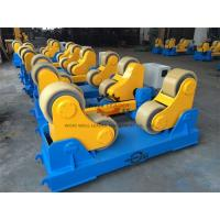 Buy cheap 20 Ton Rotary Capacity Pipe Welding Rollers Optional Wireless Remote control from wholesalers