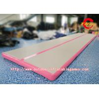 Buy cheap Inflatable Air Tumbling Track Mattress / Cheerleading Club Inflatable Tumble Track from wholesalers