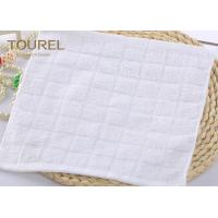 Buy cheap Custom 100% Cotton Flannel Facial Washcloth Yarn-Dyed Jacquard Bar Towel from wholesalers