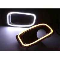 Fog Lamp Frame With Daytime Running Lights Led For Jeep