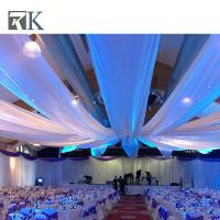 Buy cheap portable Easy install pipe and drape hall stage backdrop  for special event from wholesalers