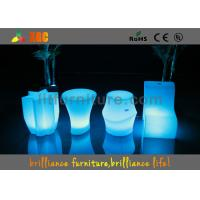 Buy cheap High Frequency LED Table And Chairs 60 X60X 60cm For Coffee Shop from wholesalers