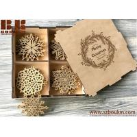 Buy cheap Christmas Decoration Family Gifts Holiday Gift Ideas Wooden Christmas Ornaments Gifts from wholesalers